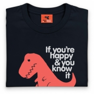 Goodie Two Sleeves Sad T Rex T Shirt