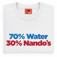 70% Water, 30% Nando's T Shirt