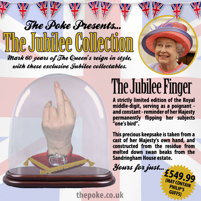The Jubilee Finger