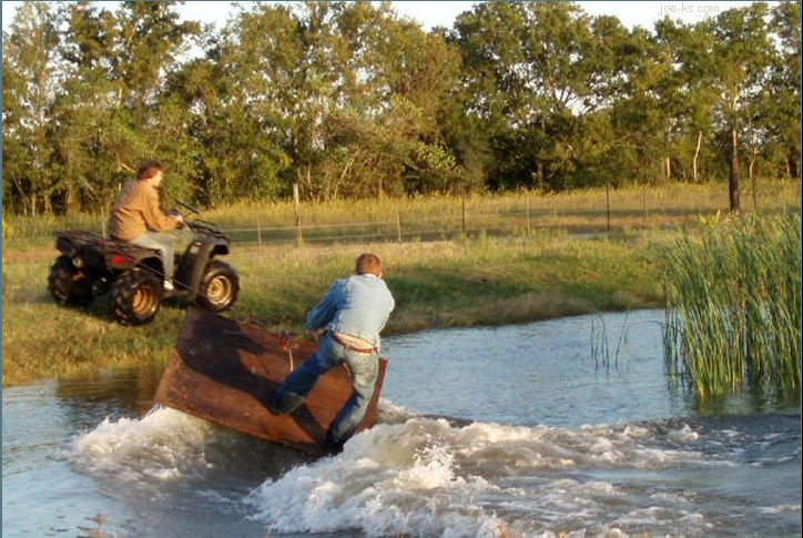 young farmers re-invent jetski