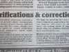 fantasy daily mail corrections column
