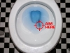 Understand how men clean the toilet