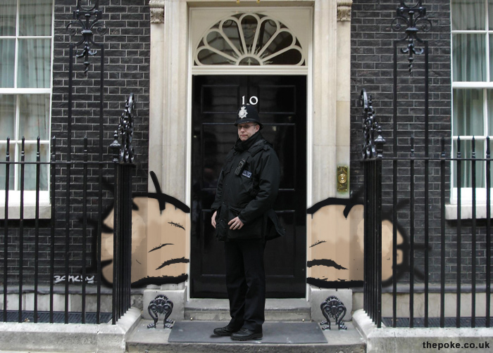 BANKSY HITS NUMBER 10
