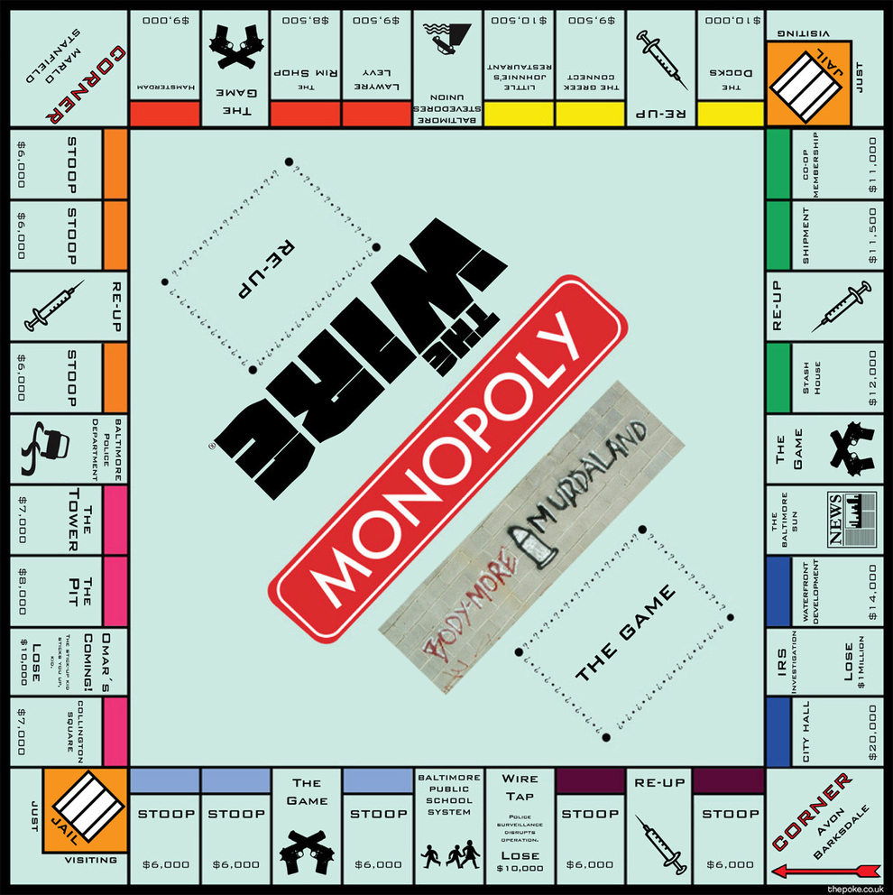 Hasbro Launch The Wire Monopoly Game Poke Wiring For Dummies Uk Board That Decades Has Instilled Values Of Aggressive Capitalism Into Young Joined Forces Today With Hit Tv Show