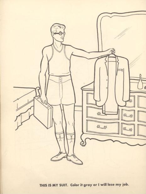 The Executive Colouring Book (1961 Edition) - The Poke