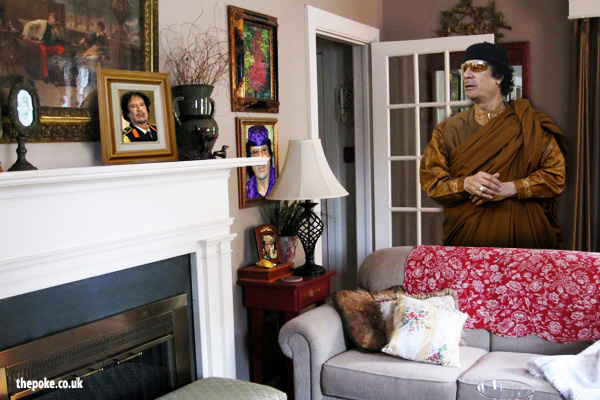 Gaddafi 'not welcome' at his mum's house