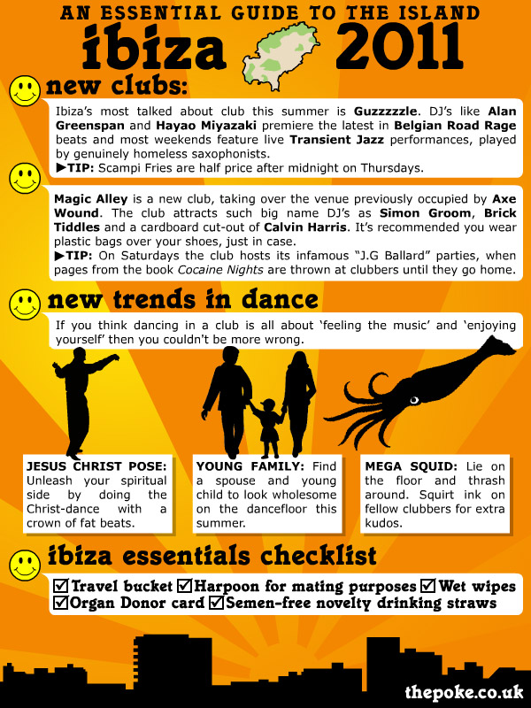 the poke's guide to ibiza 2011