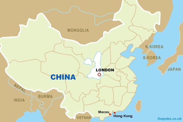 fake UK discovered in China