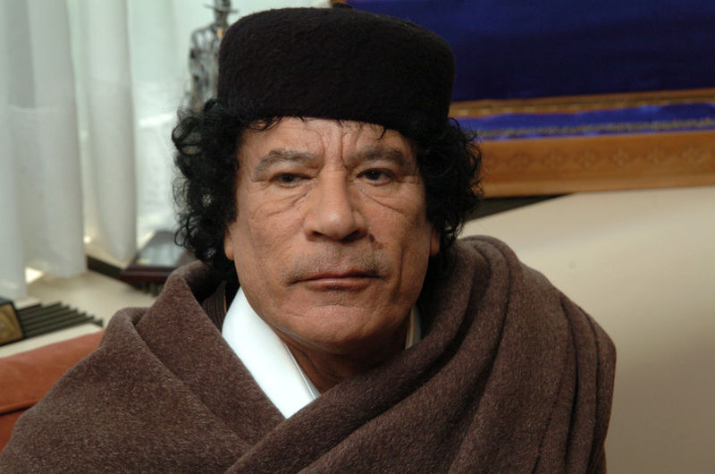 Gaddafi speaks out: 'Why I stopped fighting'