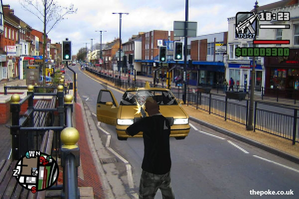 GTA Dunstable Sparks Outrage The Poke
