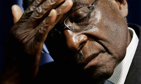 Mugabe really bricking it now Gaddaffi is dead