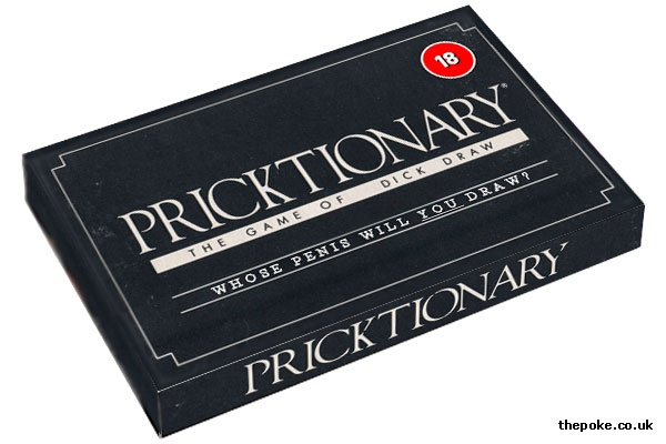 Mattel to release Pricktionary