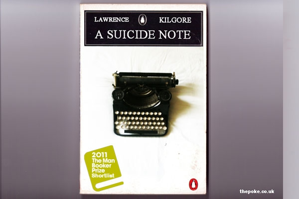 'Compelling' suicide note almost wins Booker prize