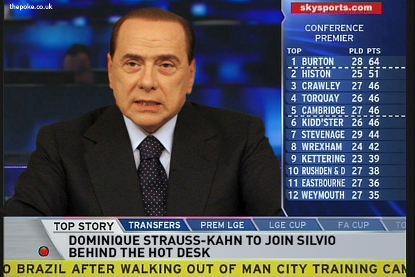 Berlusconi to front new Sky Sports football show