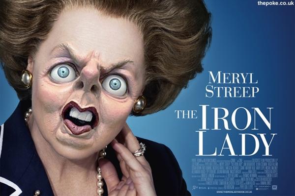 Meryl Streep is the spitting image of Mrs Thatcher