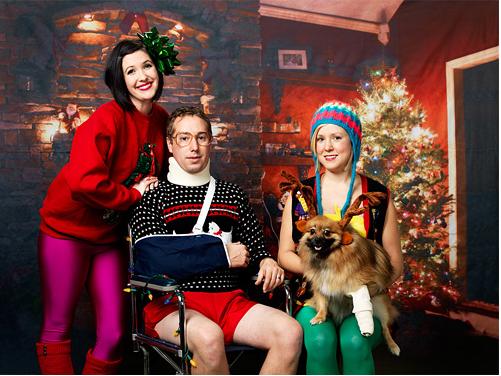 25 Depressing Family Christmas Cards | Complex