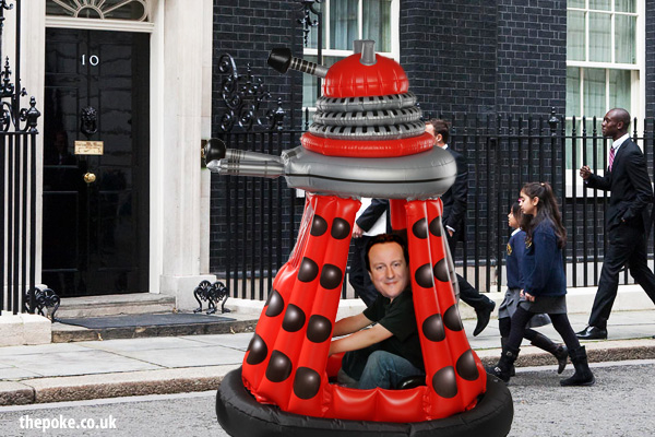 Cameron really wants Sit-In Inflatable Dalek for Christmas