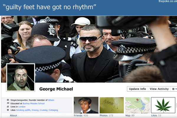 George Michael offers Facebook £1m to opt out of Timeline feature