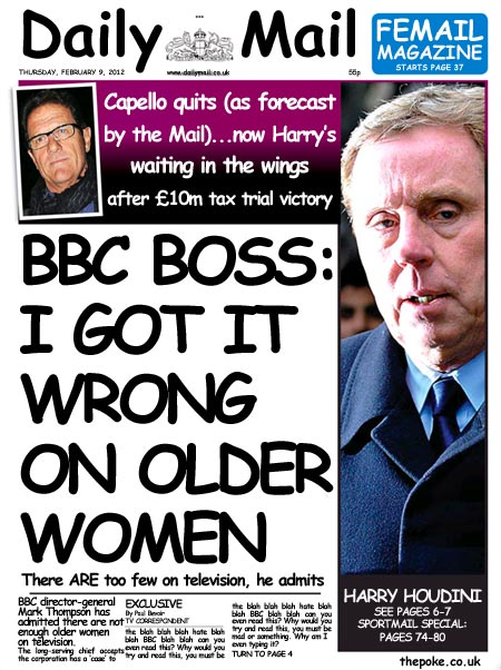 Daily Mail to use Comic Sans to lighten mood The Poke