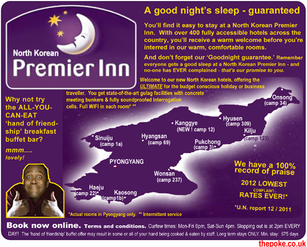 North Korea opens to the West as Premier Inn launches 400 new branches