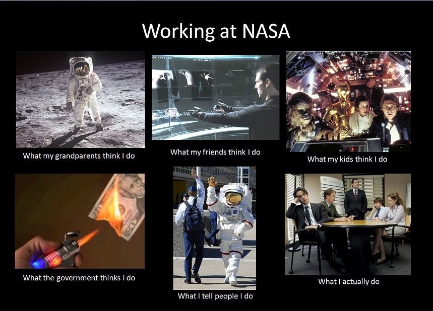 nasa staff at work - photo #16