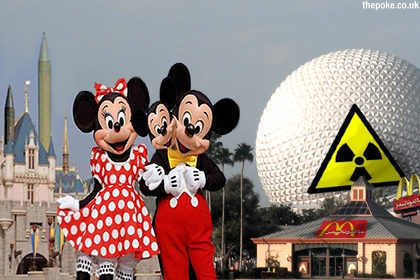 Iran invites Israel to inspect nuclear-powered Disneyland