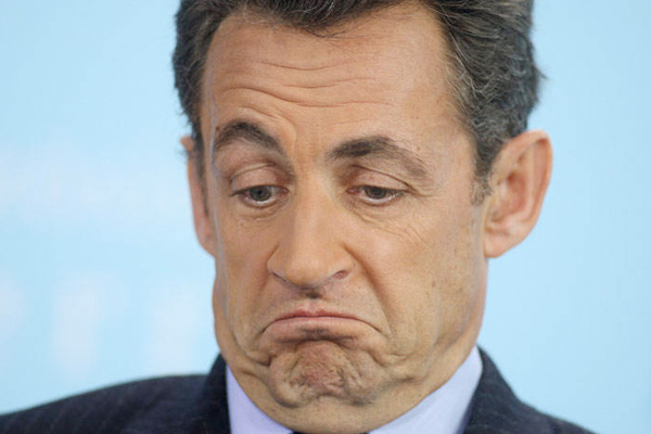 Sarkozy to replace shrugging with right wing salute The Poke