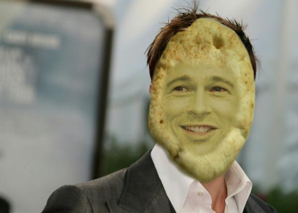 Poke Challenge: Celebr... Brad Pitt