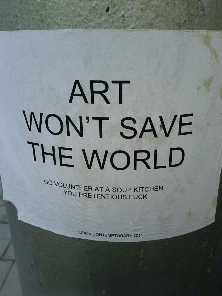 Slyly Amusing Street Posters Found Stuck To Lampposts The Poke