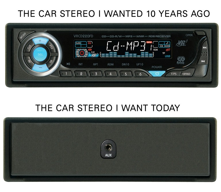The Car Stereo - Then And Now The Poke