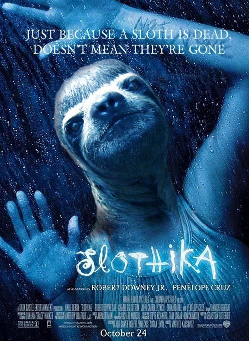 Poke Challenge: Sloth Film Posters The Poke