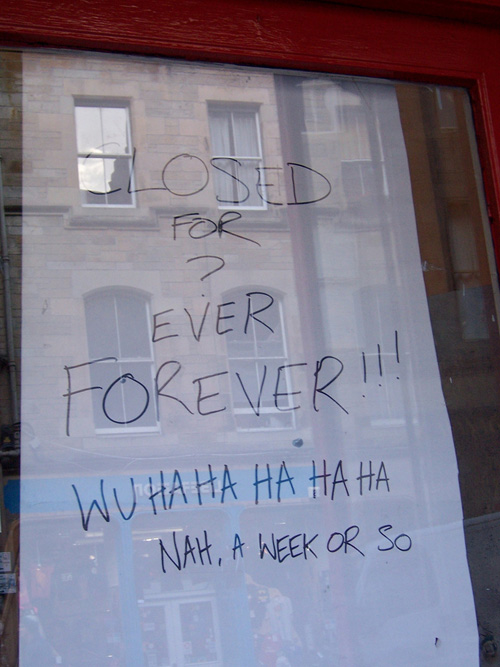 30 fabulous shop notices the poke