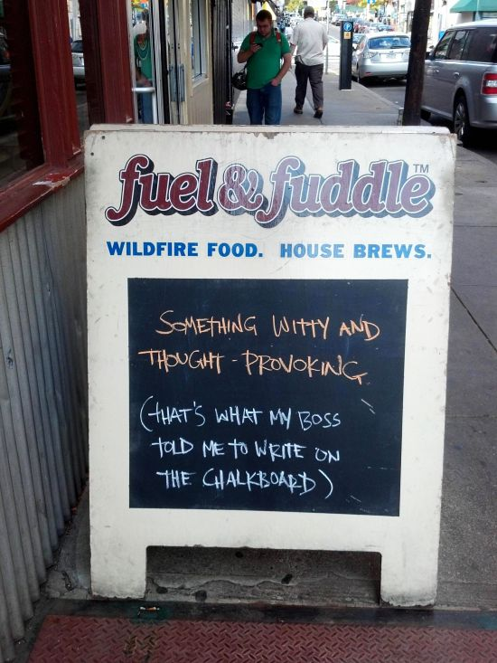 Brilliant Pub Chalkboards The Poke - 24 funniest signs ever spotted around 6 just brilliant