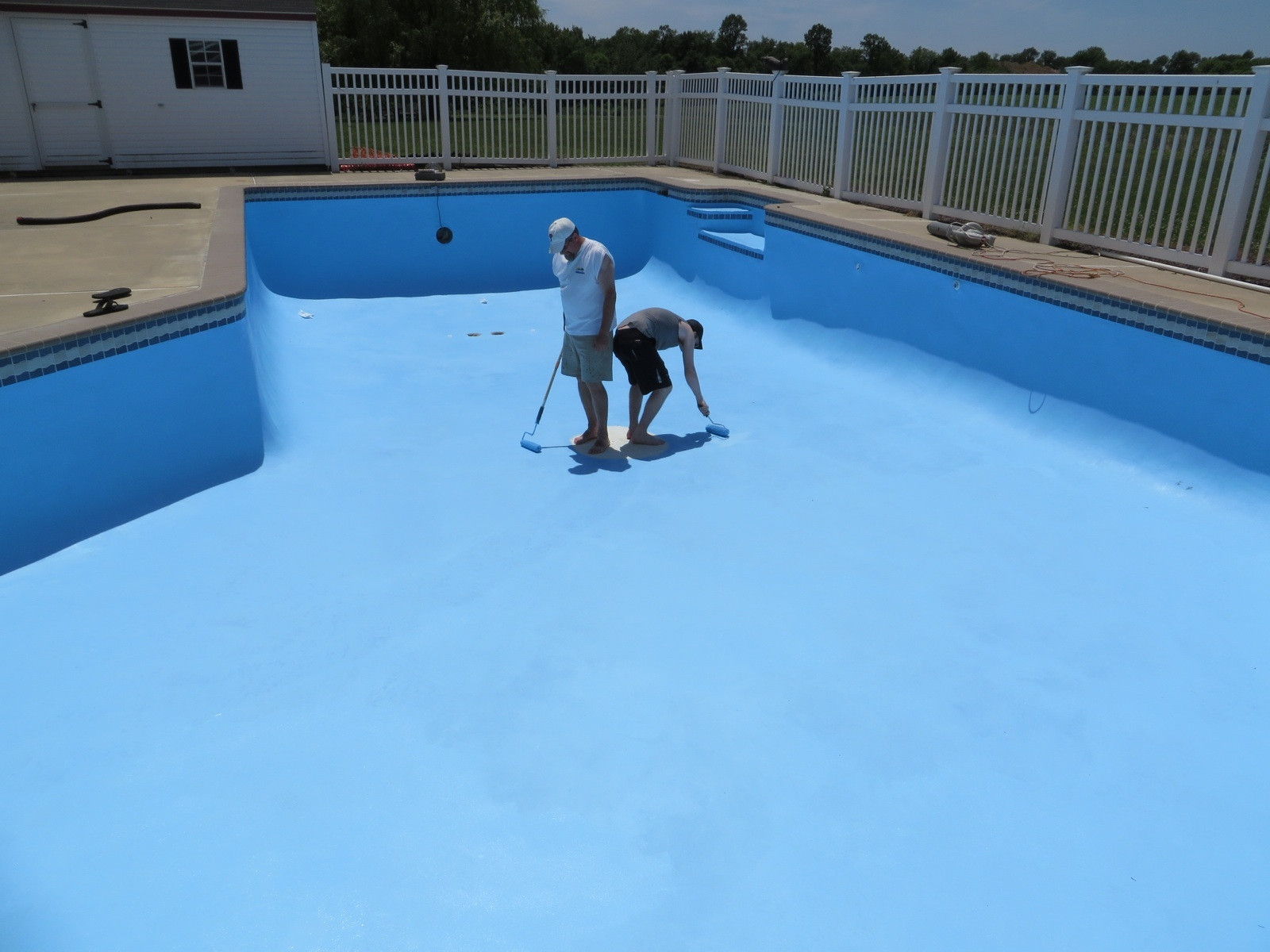 Swimming Pool Painters : Swimming pool painting pro edition the poke