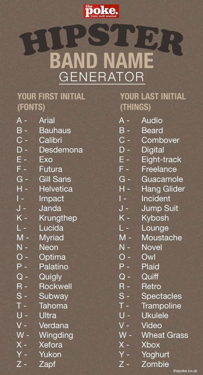 name genearator