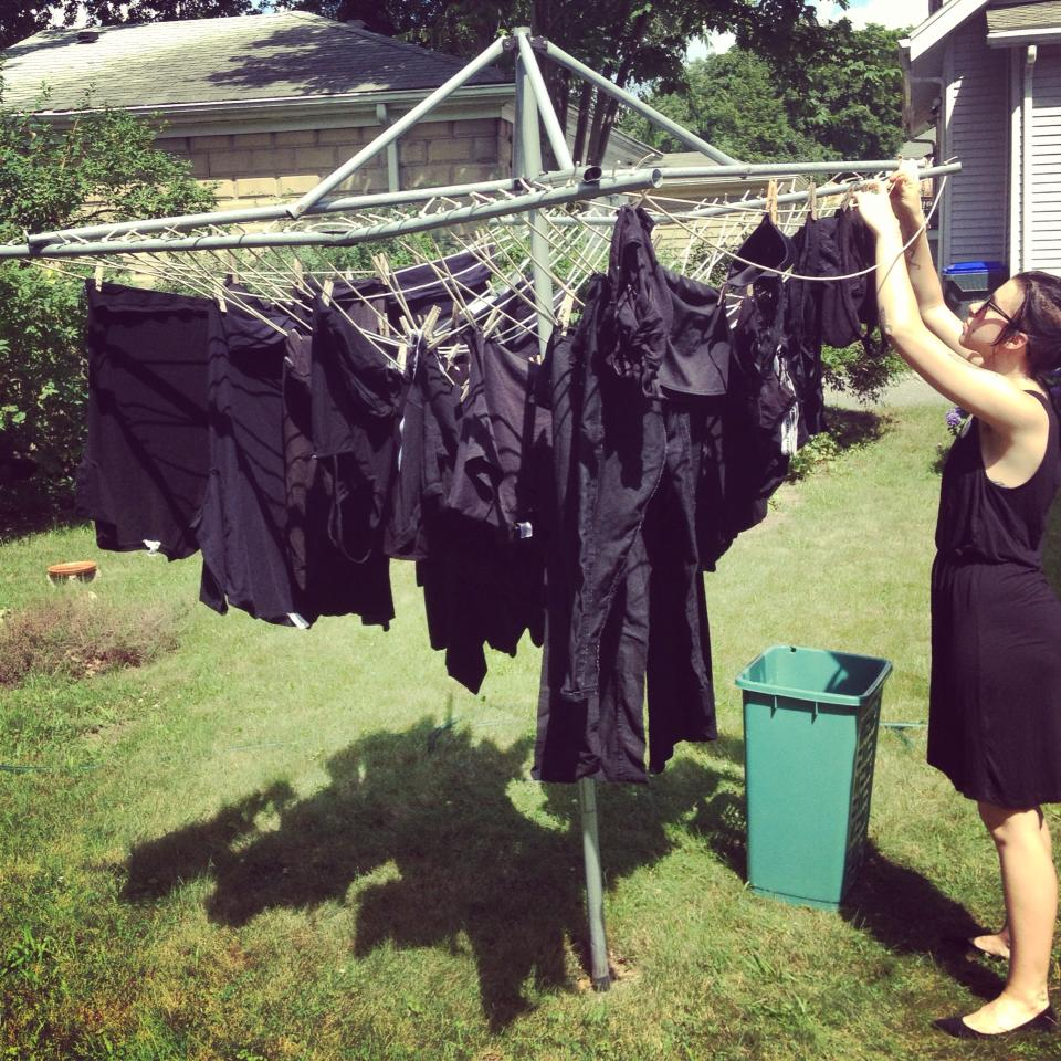 Goth Laundry Day | The Poke: