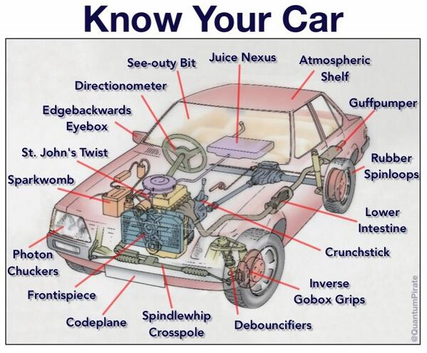 Know Your Car  Infographic  The Poke