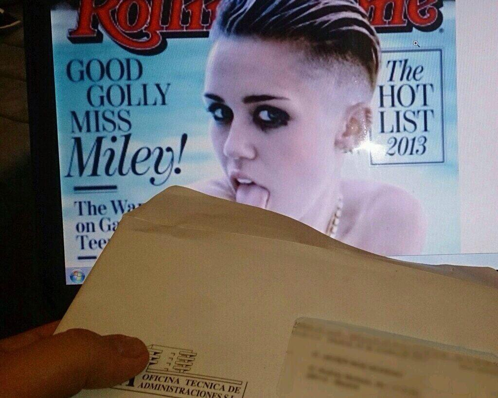 Miley Cyrus Being Useful