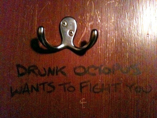 31 things you will never be able to look at in the same way ever again the poke - Coat hook octopus ...