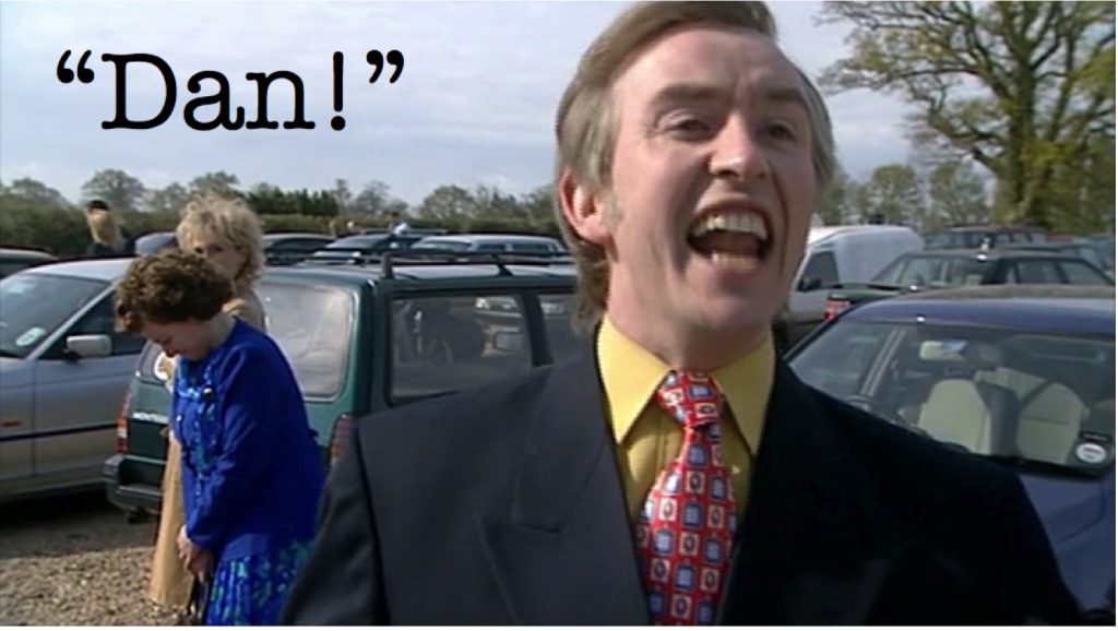 Alan partridge and the swingers