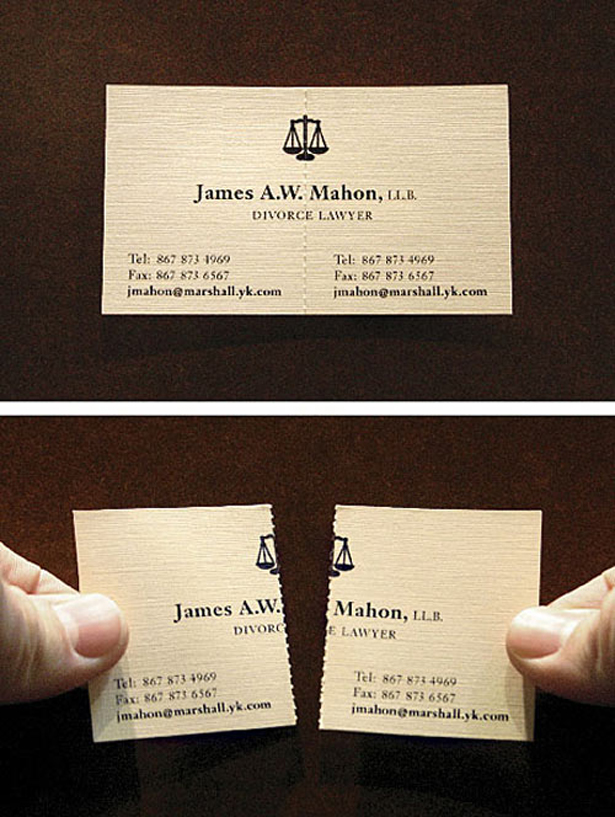 24 Brilliant Business Cards The Poke
