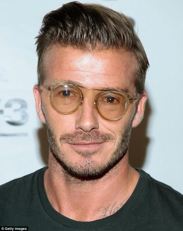 Celebrity receding hairline