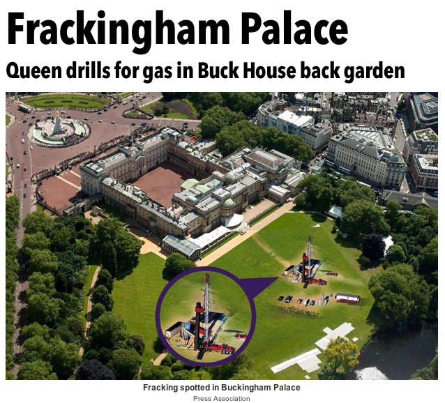 Queen to get fracking drilling for gas in Buckingham Palace back garden   The Sun  News