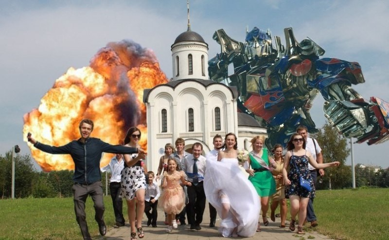 The Most Bizarre Collection Of Russian Wedding Photos Ever Taken The Poke