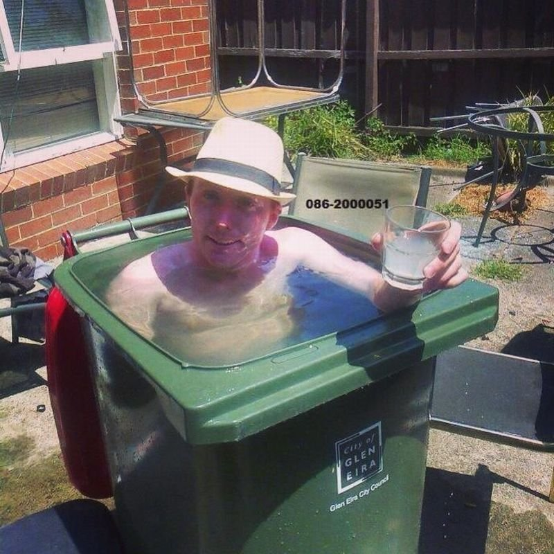 12 diy swimming pools the poke for Easy pool obi