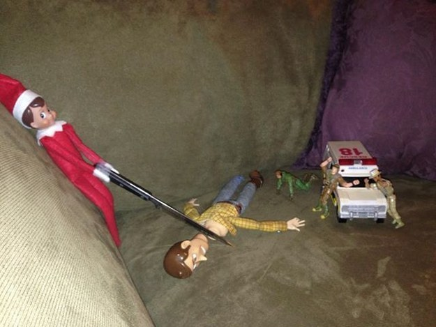 10 reasons why the elf on the shelf is on the naughty list