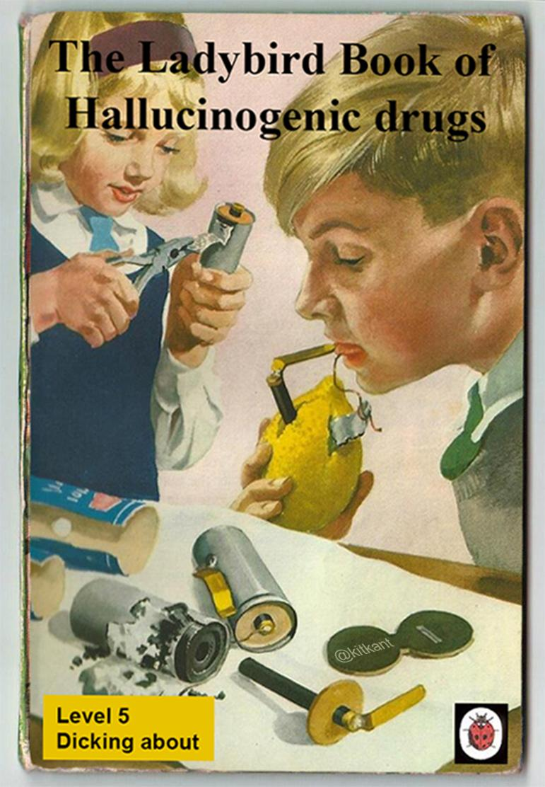 Book Cover Memes ~ The grown up ladybird books are now a real thing poke