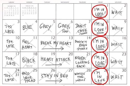 Robert Smith's Calendar The Poke Will Smith On Facebook