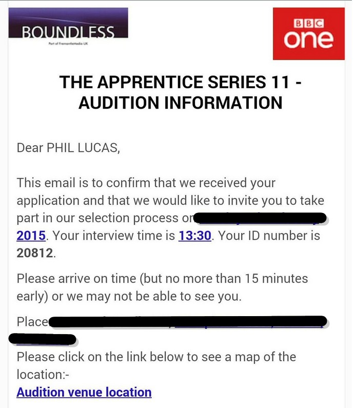 Man applies for The Apprentice for a laugh – gets offered an interview   The Poke (1)