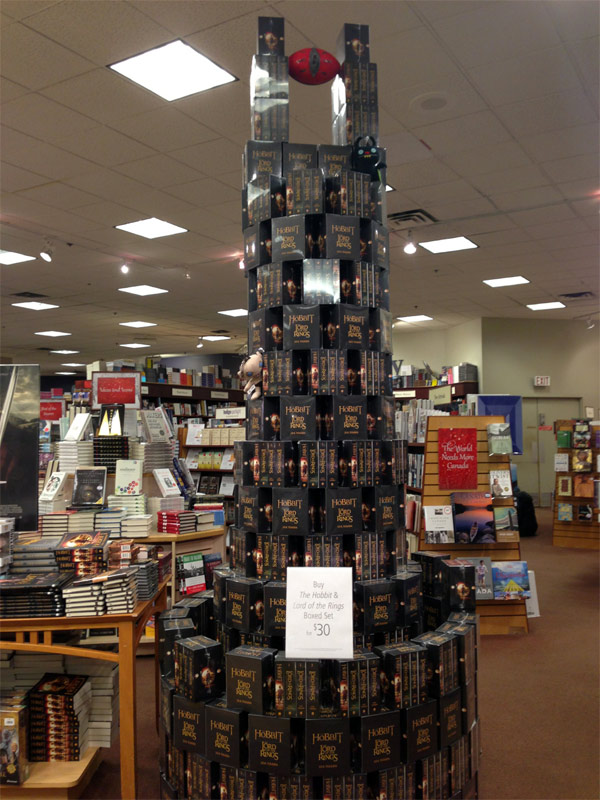 Eye-of-Sauron-made-of-Stacked-Tolkien-Books